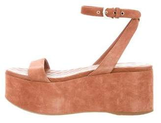 Chanel CC Flatform Wedges