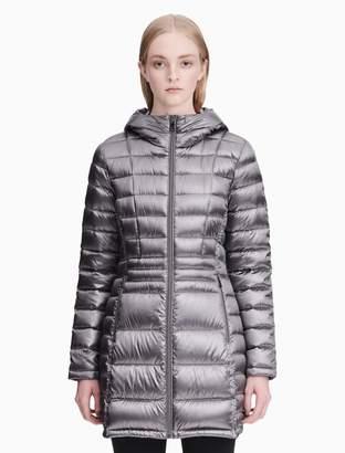 Calvin Klein down packable walker jacket