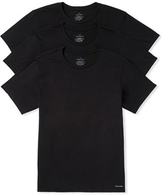 Men's Calvin Klein 3-Pack Cotton T-Shirt $39.50 thestylecure.com