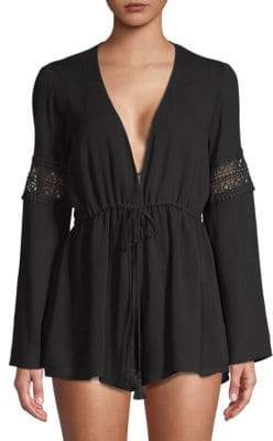 Show Me Your Mumu Sparrow Long-Sleeve Romper