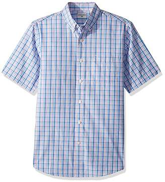 Dockers Mens No Wrinkle Short Sleeve Button-Front Shirt
