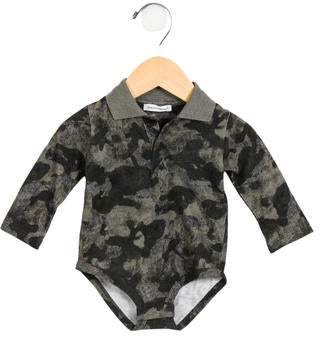 Dolce & Gabbana Boys' Knit Camouflage All-In-One