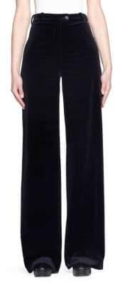 Acne Studios Velvet Wide Leg Pants
