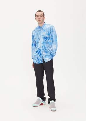 Comme des Garcons Polyester Tie Dyed Shirt
