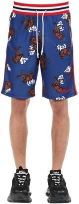 Minimal Logo Embroidered Shorts