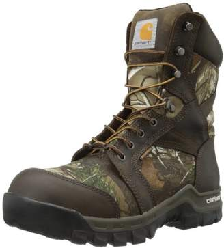 "Carhartt Men's 8"" Rugged Flex Insulated Waterproof Breathable Composite Toe Leather Boot CMF8379"