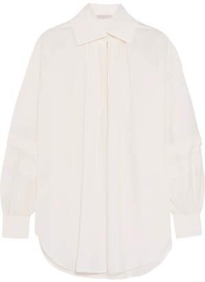 Etro Slub Silk Blouse - White