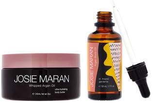 Josie Maran Whipped Argan Oil Body Butter & Body Oil Set