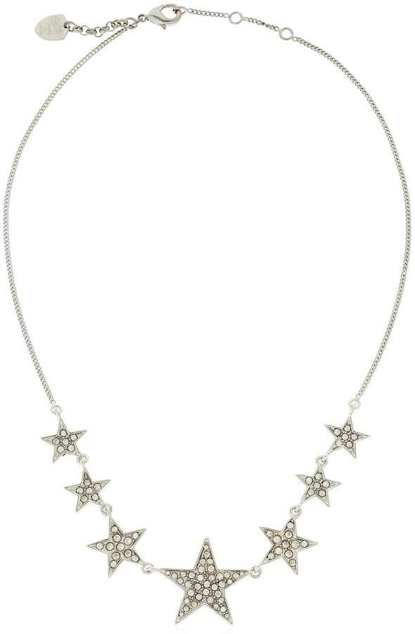 Schield Little Stars Crystal Necklace