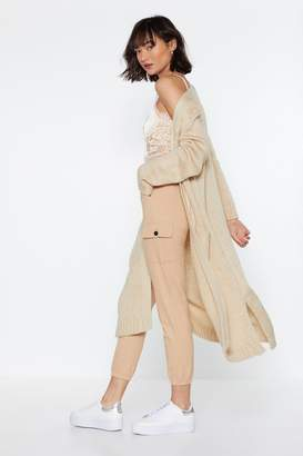 Nasty Gal So Long Knit Cardigan