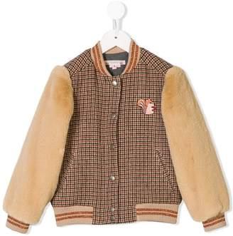 Bonpoint long-sleeve bomber jacket