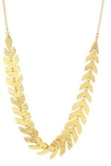 Kate Spade Leaf Slider Necklace