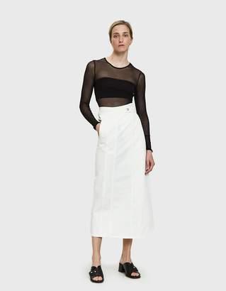 MM6 MAISON MARGIELA Denim Wrap Skirt