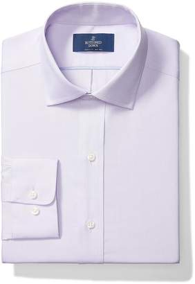 Buttoned Down Men's Classic Fit Spread-Collar Non-Iron Dress Shirt (Pocket)