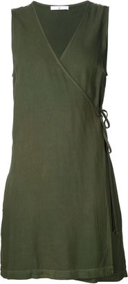 321 Short Wrap Dress