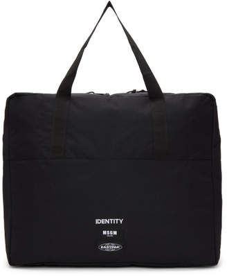 MSGM Black Eastpak Edition Tote