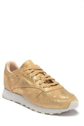 Reebok Classic Leather Shimmer Sneakers