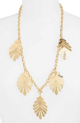 Kate Spade A New Leaf Statement Necklace