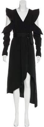 Self-Portrait Asymmetrical Wrap Dress w/ Tags