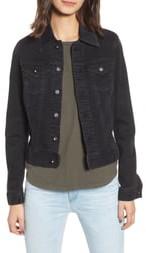 AG Jeans 'Robyn' Crop Denim Jacket