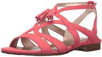 Anne Klein Women's Noreena Fabric Heeled Sandal