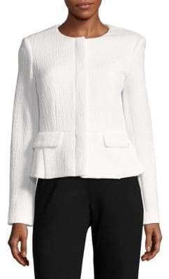 Calvin Klein Textured Long-Sleeve Jacket