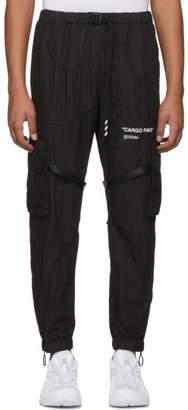 Off-White Black Parachute Cargo Pants