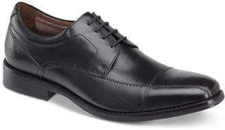 Johnston & Murphy Men's Bartlett Cap-Toe Lace-Up Oxfords