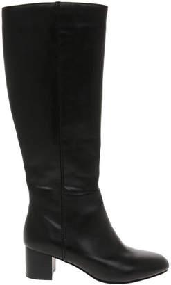 Basque Dora Black Leather Boot