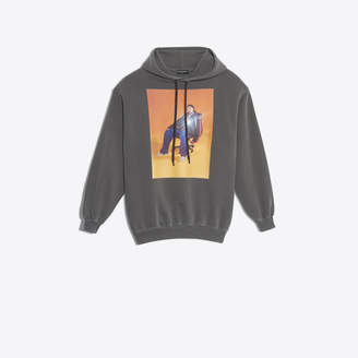 Balenciaga Campaign photo printed hooded sweater