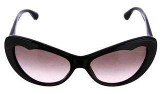 Miu Miu Cat-Eye Gradient Sunglasses