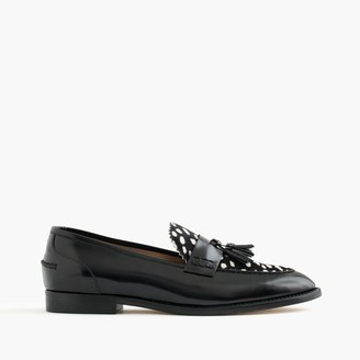Biella loafers in leather and calf hair $298 thestylecure.com