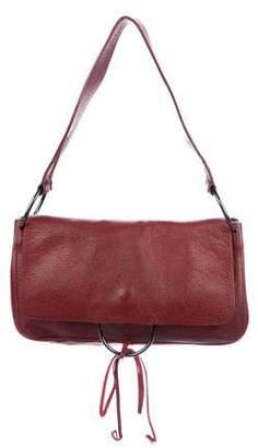 Miu Miu Leather Ring Shoulder Bag