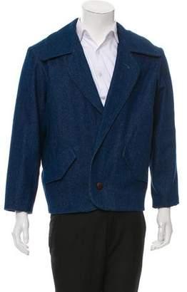 Assembly Denim Fleece-Lined Jacket