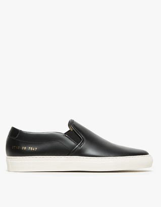 Slip-On in Leather $435 thestylecure.com