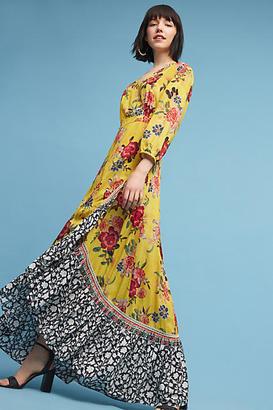 Farm Rio Sunlit Floral Maxi Dress $228 thestylecure.com