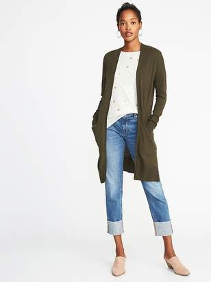 Old Navy Super-Long Open-Front Cardi for Women