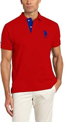 U.S. Polo Assn. Men's Short-Sleeve Polo Shirt with Applique