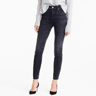 "J.Crew 9"" High Rise Toothpick Jean In Charcoal Wash"