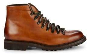 Cuero Leather Lace-Up Active Boots