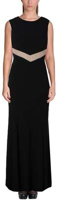 Betsy & Adam Womens Sheer Trim Cut-Out Evening Dress 10