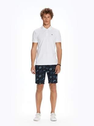 Scotch & Soda Twill Chino Shorts | Medium length