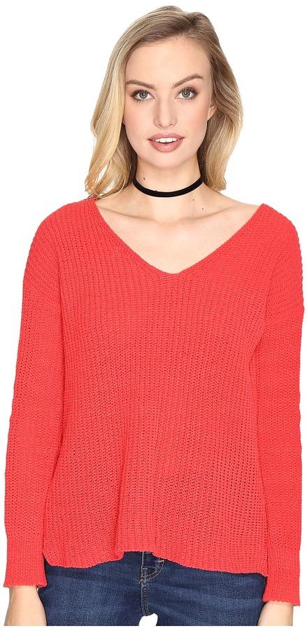 BB DakotaBB Dakota Zona Soft V-Neck Sweater