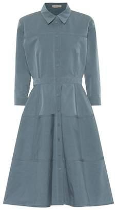 Bottega Veneta Cotton and silk-blend dress