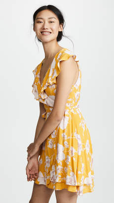 Free People French Quarter Printed Mini Dress