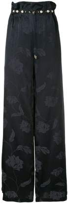 Mother of Pearl floral print wide-leg trousers