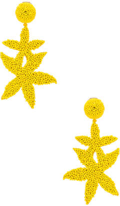 Oscar de la Renta Double Starfish Earrings