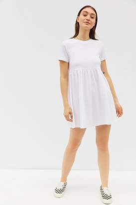 Urban Outfitters Alexa Short Sleeve Babydoll Mini Dress