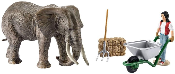 Schleich Elephant Care Set