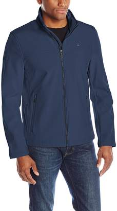 Tommy Hilfiger Men's Zip Front Classic Soft Shell Jacket